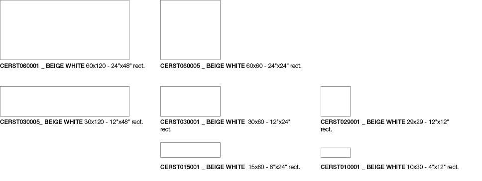 Formato Beige White